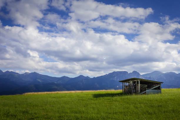 Tatra Mountains in Poland stock photo