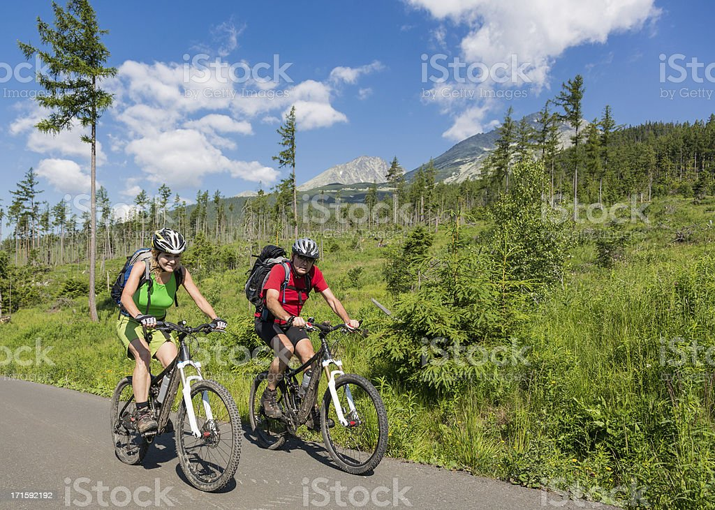 Tatra Mountains Mountainbiking – Foto