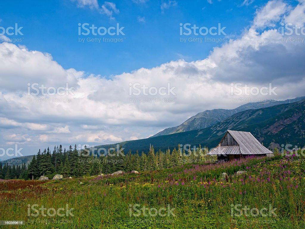 Tatra Mountains royalty-free stock photo
