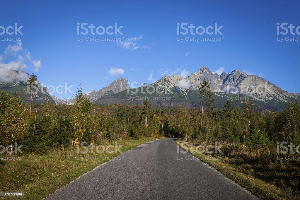 Tatra Mountains. stock photo