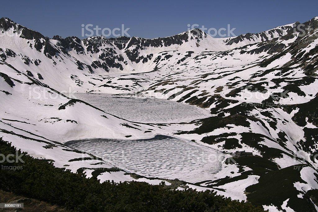 Tatra Mountains royaltyfri bildbanksbilder