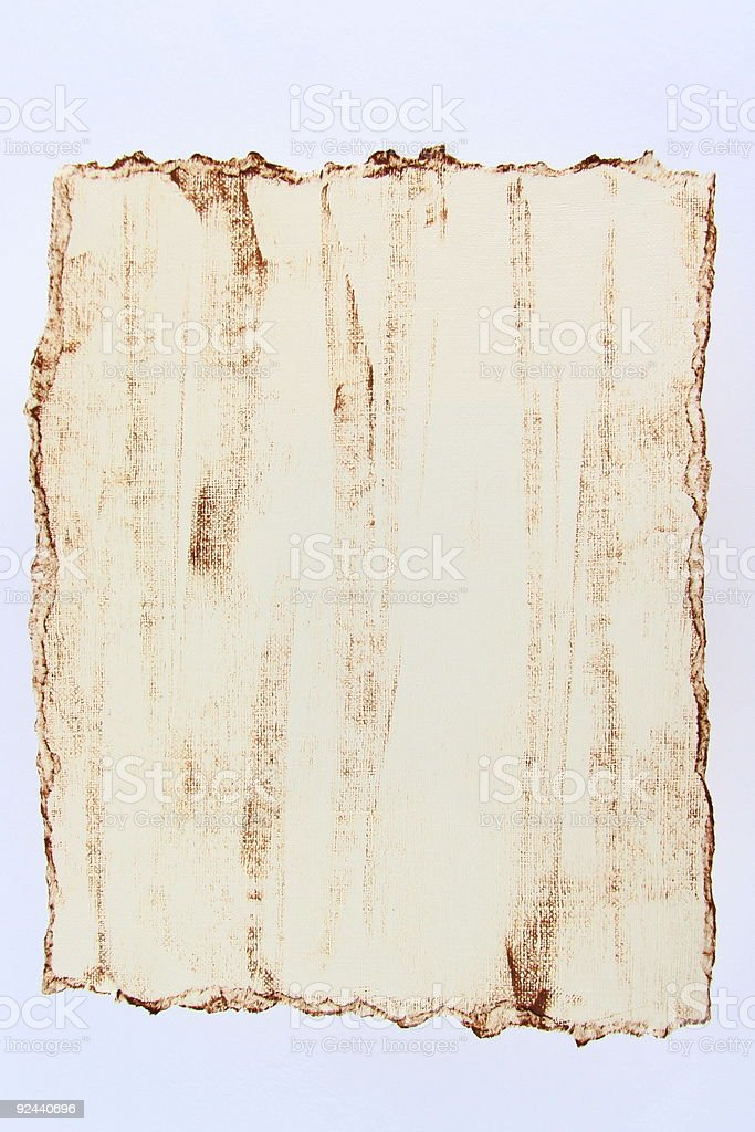 Tattered Grunge Paper Background stock photo