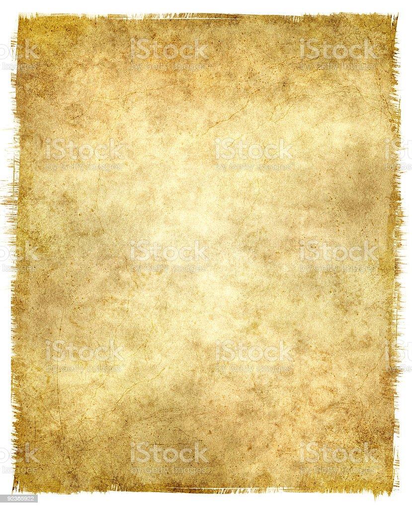 Tattered Grunge Paper royalty-free stock photo
