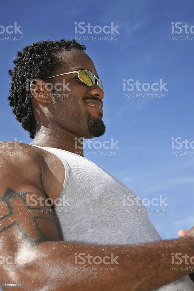 Tattoo Man royalty-free stock photo