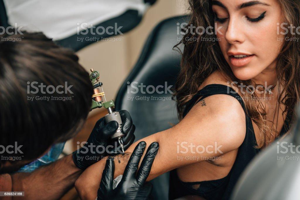 Tattoo stock photo
