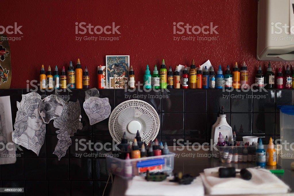 Tattoo Studio stock photo