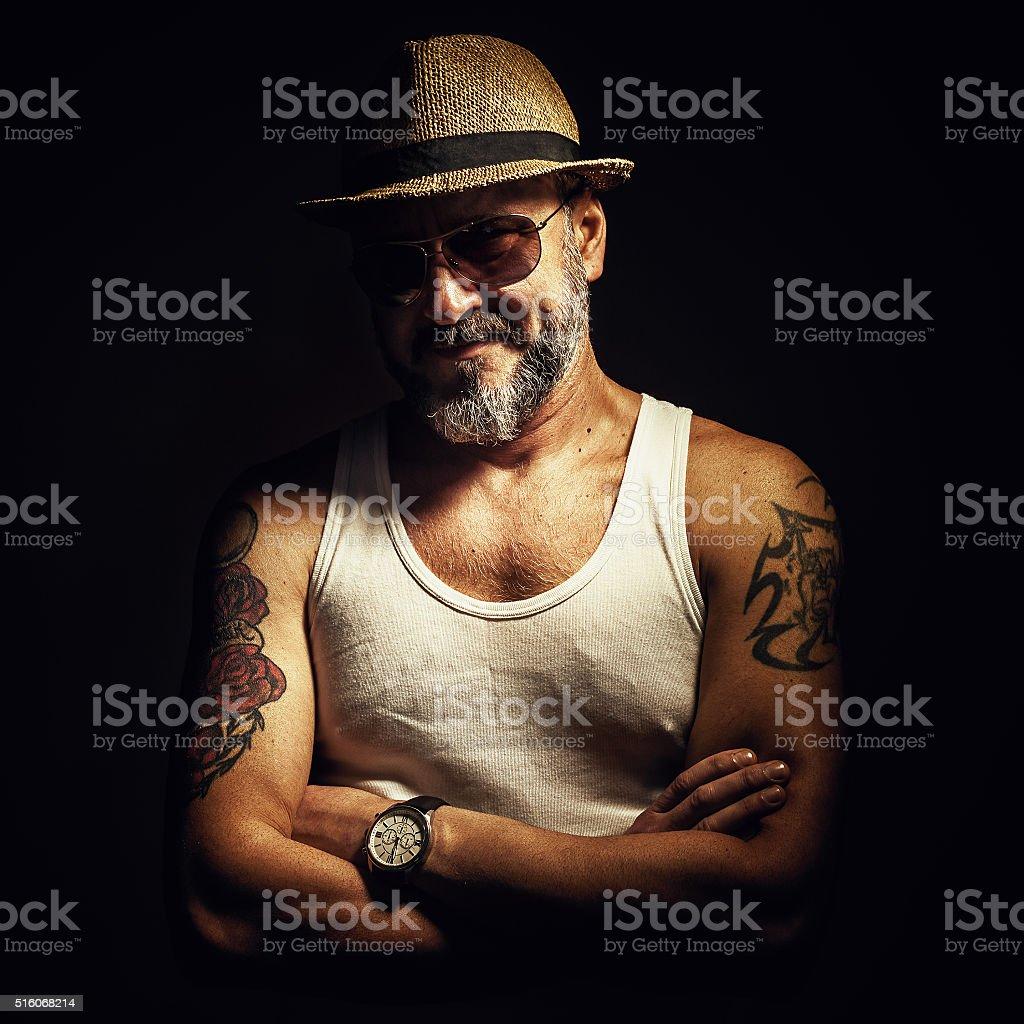 Tatuagens e de idade - foto de acervo