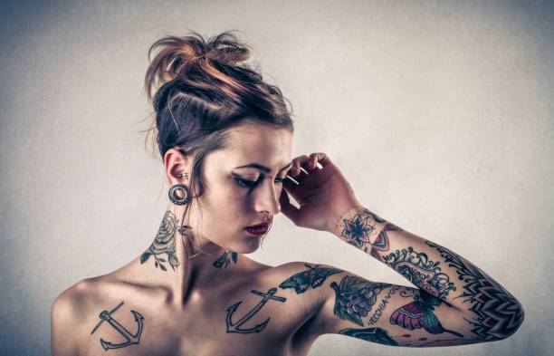Tattoos - foto stock