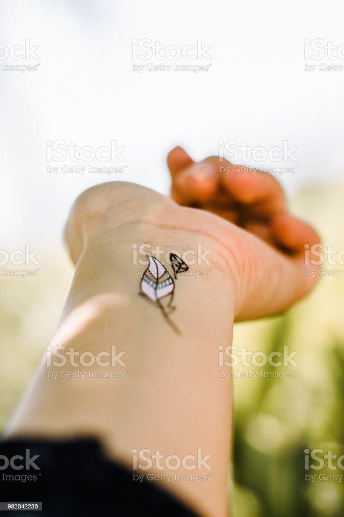 Tatuaje - foto de stock