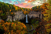 Taughannock Falls State Park Trumansburg Ulysses Ithaca NY Finger Lakes Upstate New York Empire State