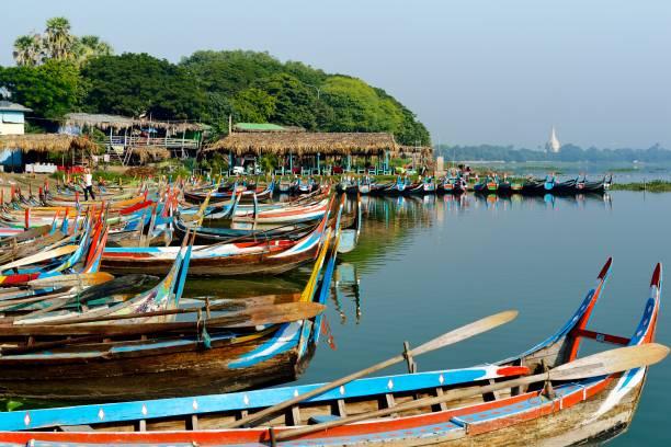 Taungthaman See in Mandalay,Myanmar – Foto