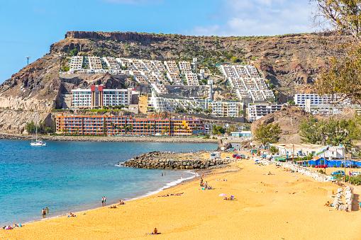 Tauro beach (Taurus Beach) on Gran Canaria island, Spain