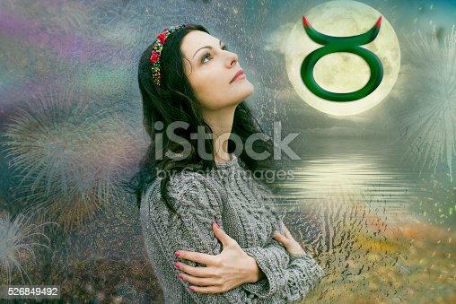 istock Taurus, the woman in astrology 526849492