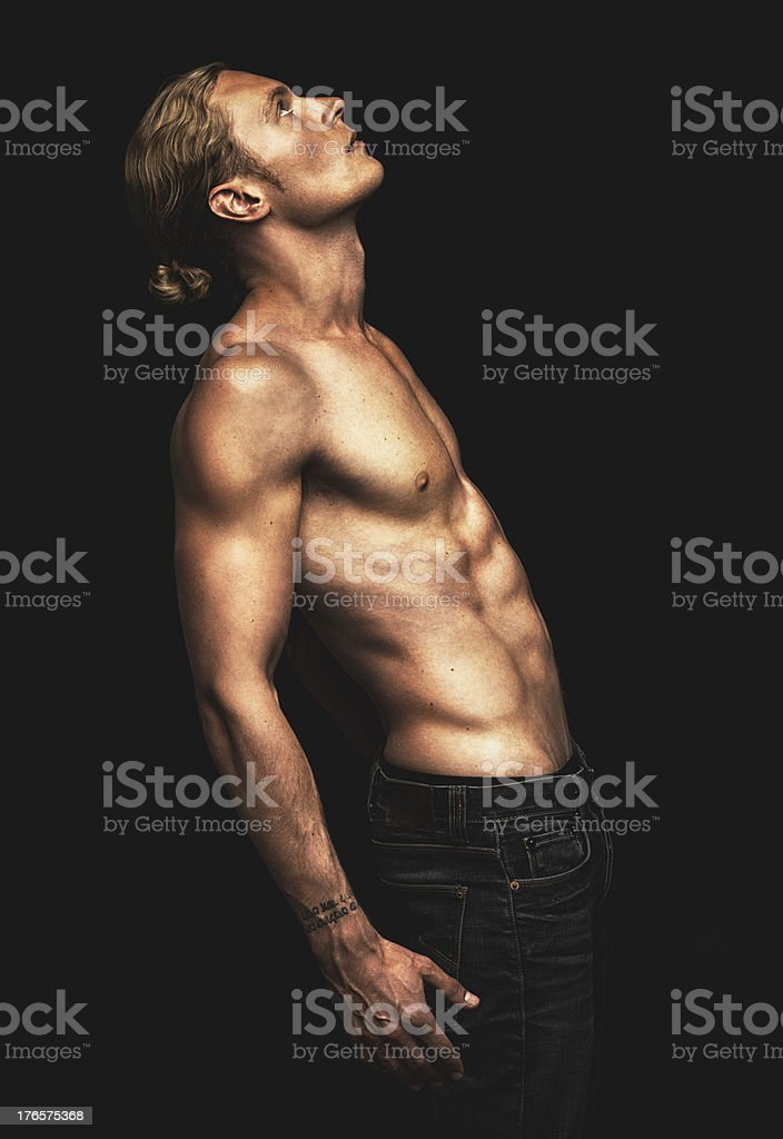 Taut and toned stock photo