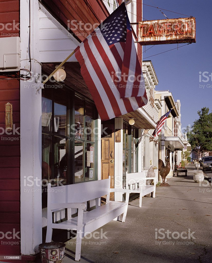 Tavern, Langley, Whidbey Island, Washington royalty-free stock photo
