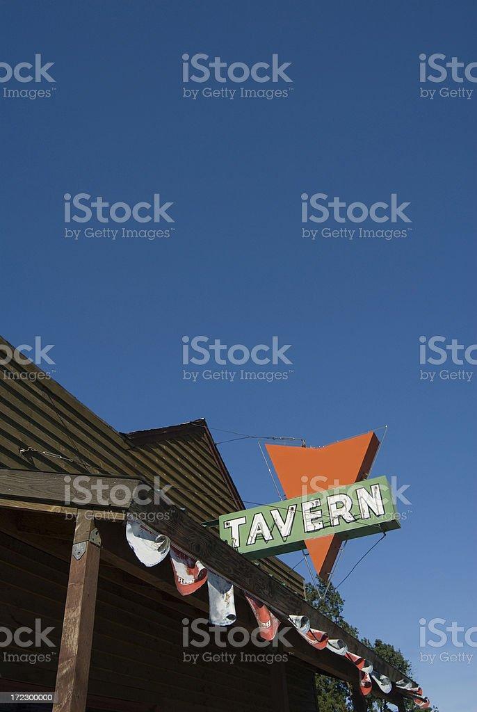 Tavern stock photo
