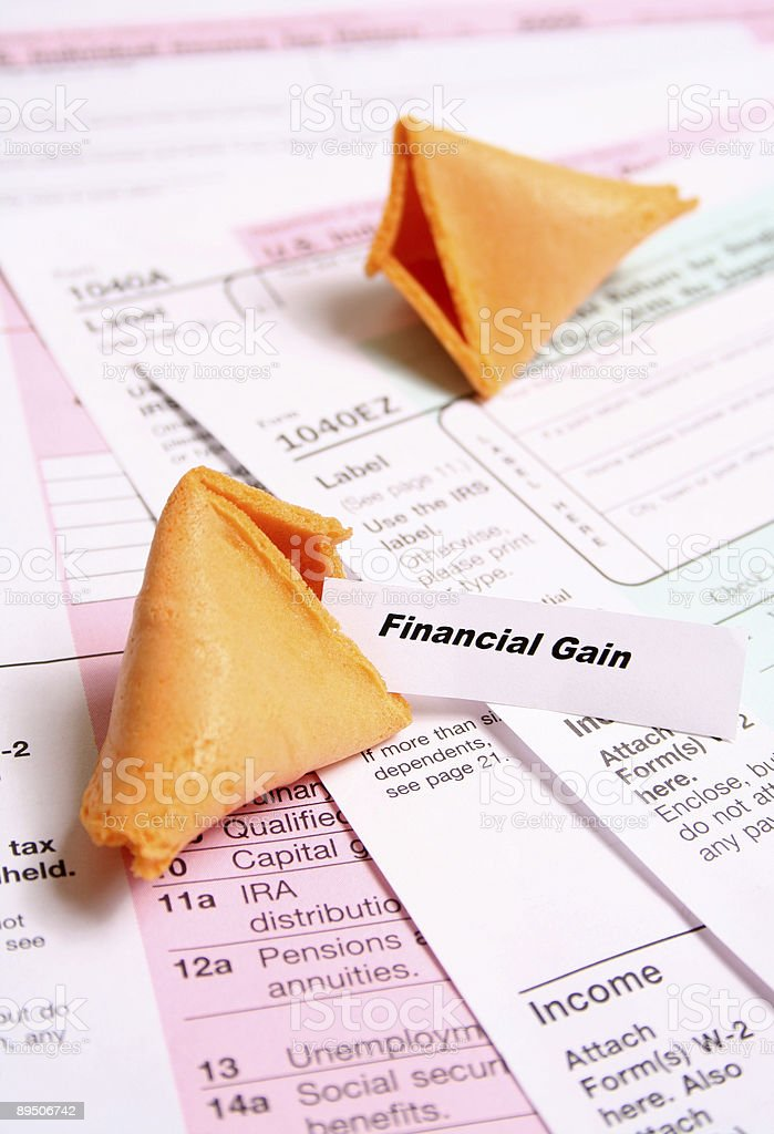 tax and Fortune royalty-free stock photo
