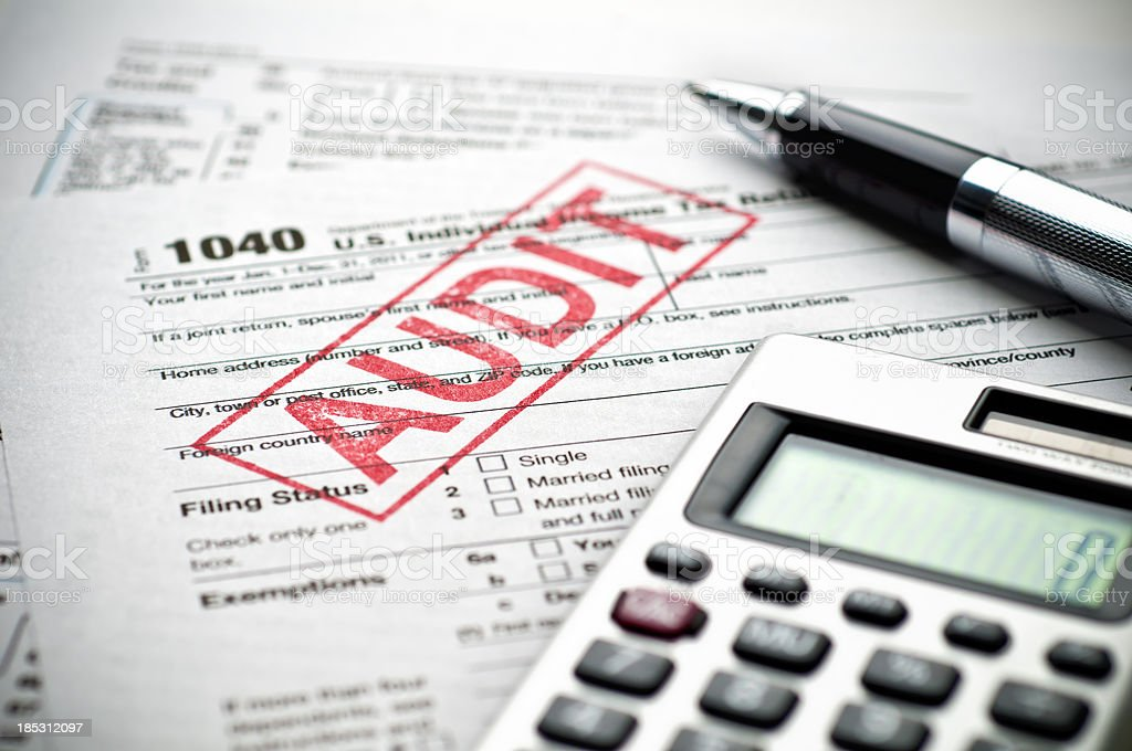Tax Audit stock photo