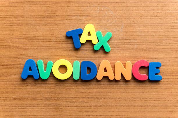 tax avoidance stock photo