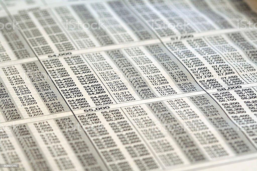 Soporte de impuestos - foto de stock