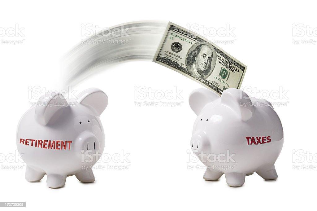Tax Burden royalty-free stock photo