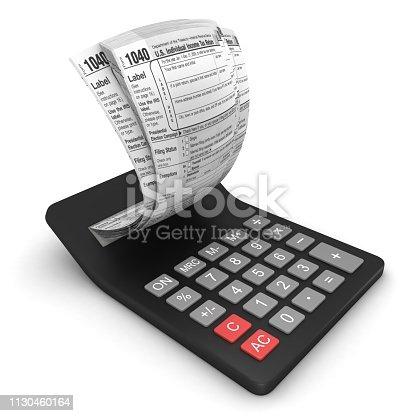 Tax calculator finance audit
