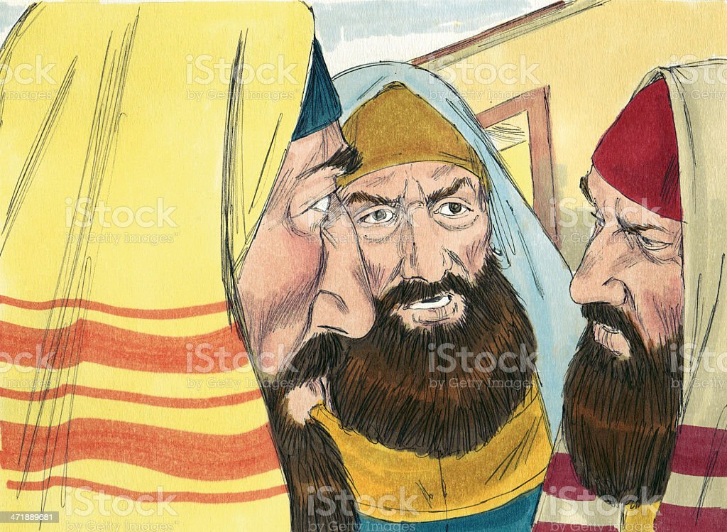 Tax Collectors stock photo