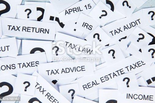 istock Tax concept 475765167