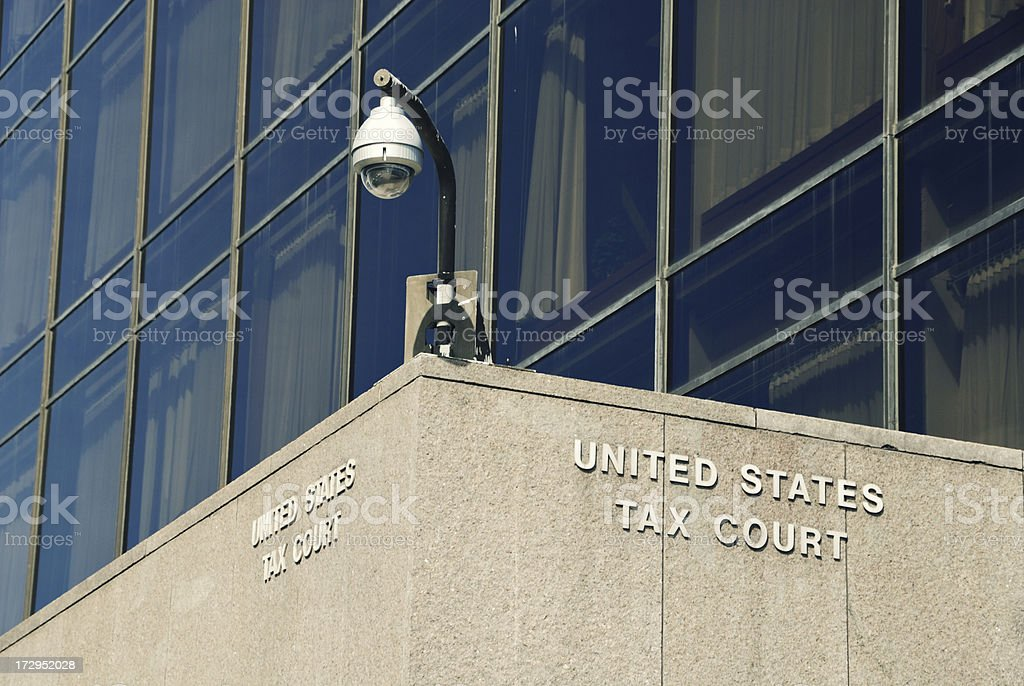 US Tax Court stock photo