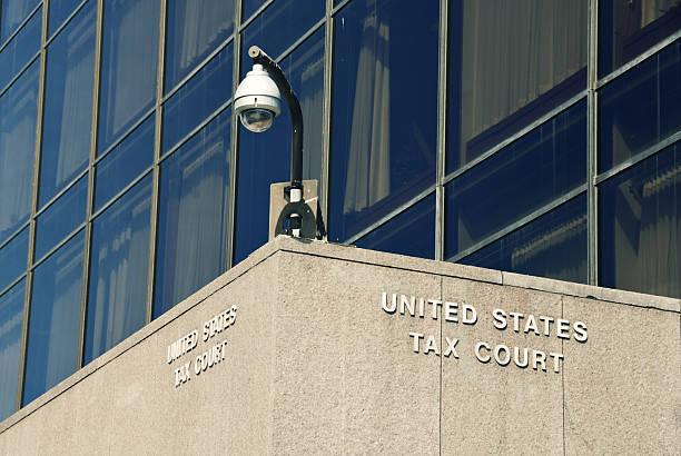 US Tax Court stock photo