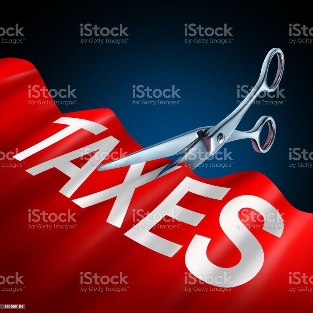 Tax Cuts stock photo