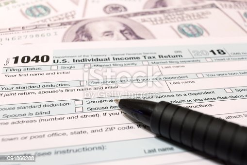 istock USA tax day april 15 2019 1094866288