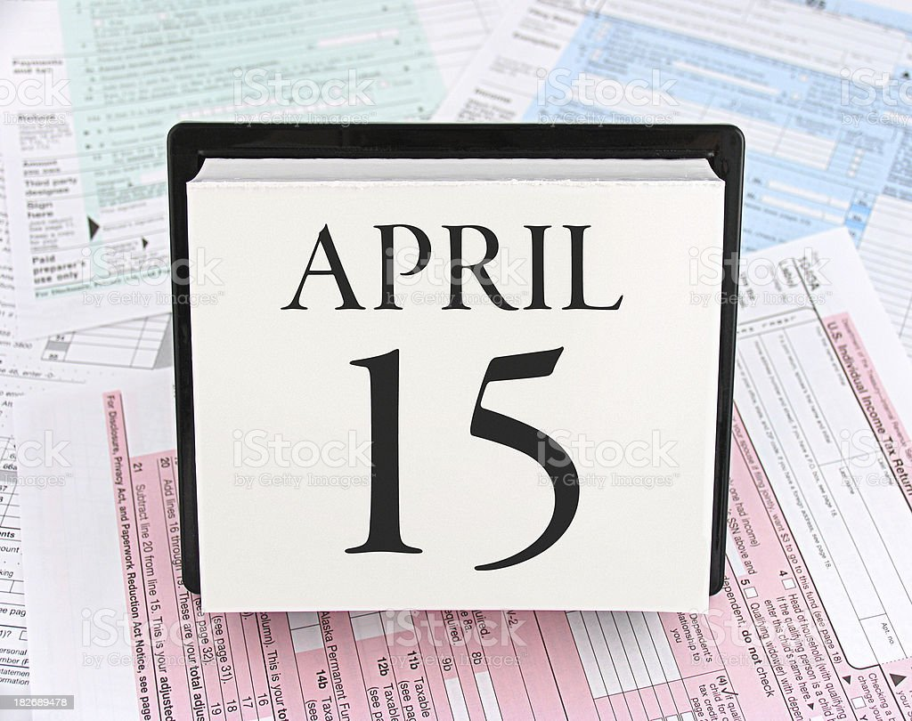 Tax Day - Are You Ready? stock photo