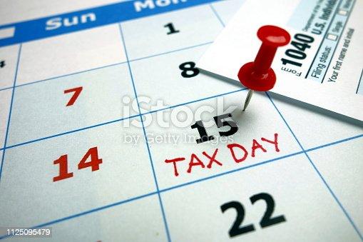 istock Tax day 1125095479