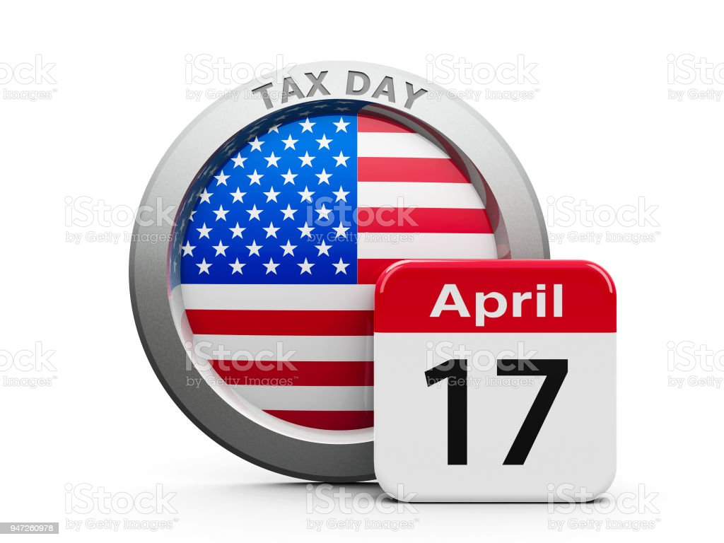 Tax Day (USA) stock photo