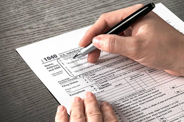 Formulaire des impôts - Photo