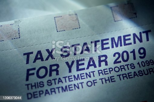 close up shot of tax forms