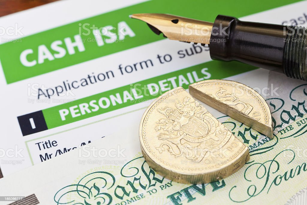 Tax Free Cash ISA stock photo