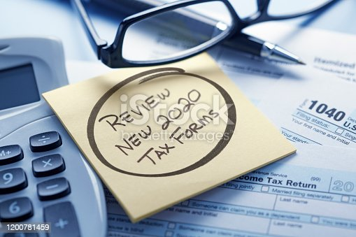 1170746979 istock photo Tax Law Changes 2020 1200781459