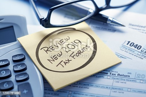 1170746979 istock photo Tax Law Changes 2020 1200781490