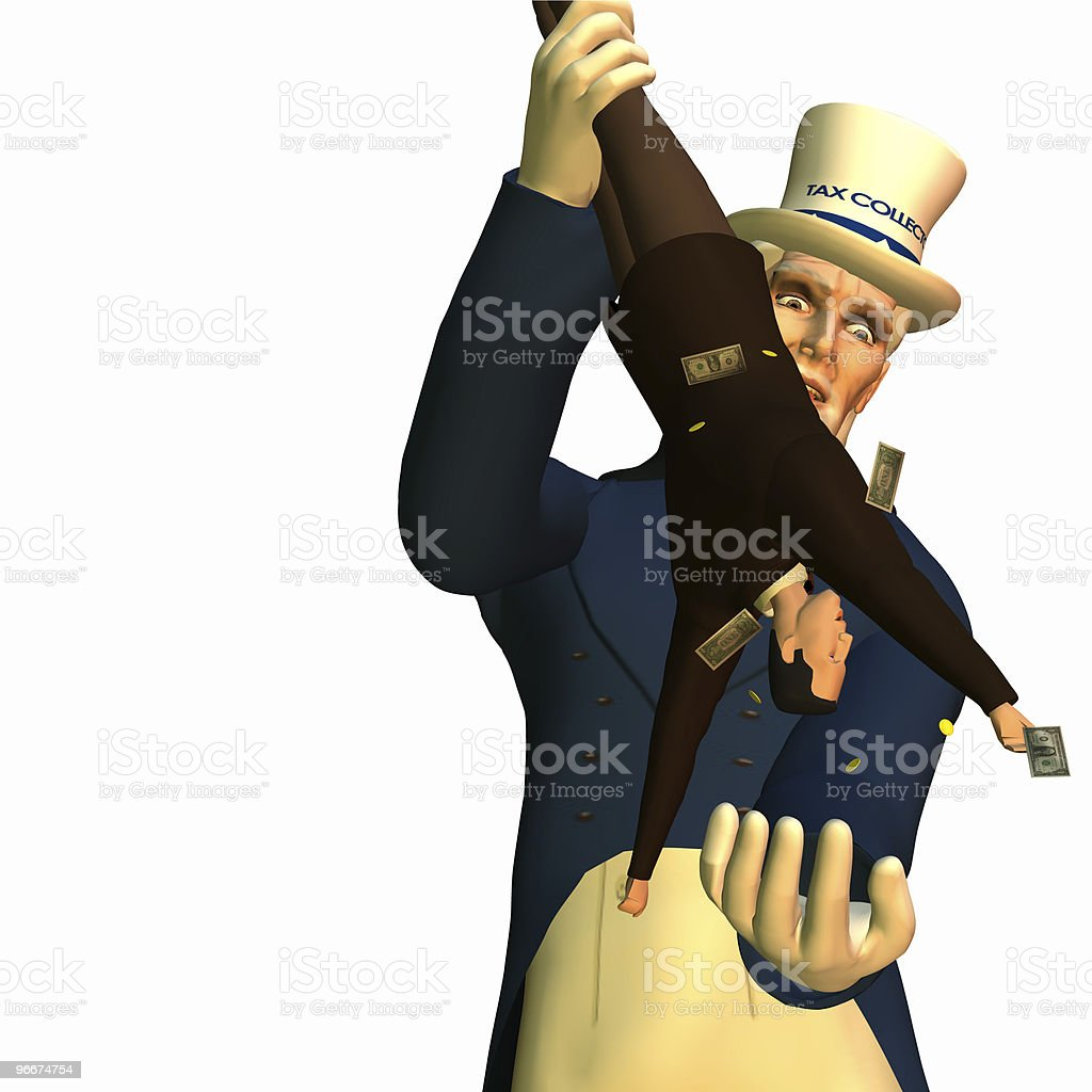 Tax Man Cometh 1 stock photo