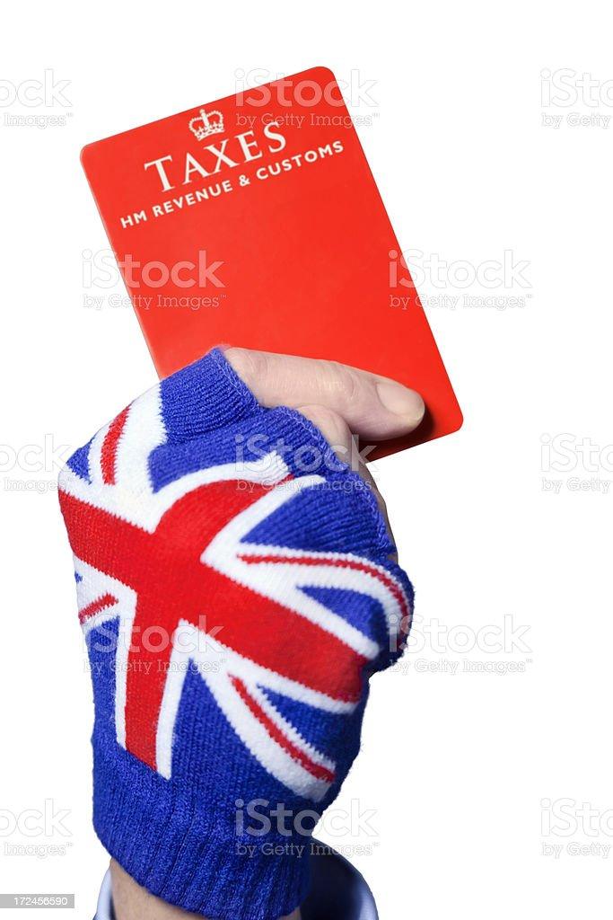 Tax Penalty royalty-free stock photo