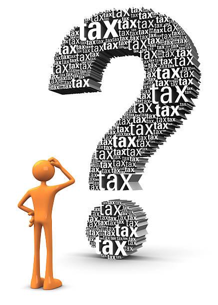 Steuern Fragen – Foto
