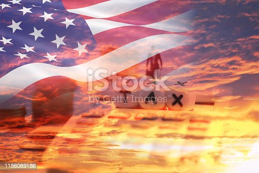 istock Tax Reform concept and calculator businessman finances - United States taxes on imports of goods in export and import logistics trade war 1156089186