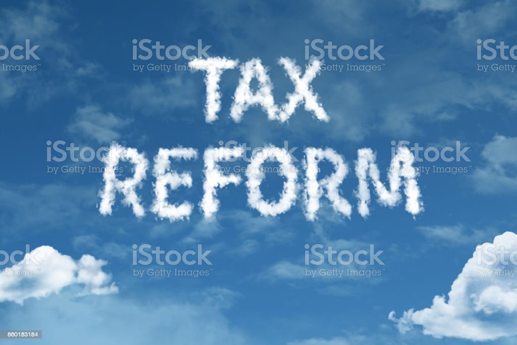 Tax Reform stock photo