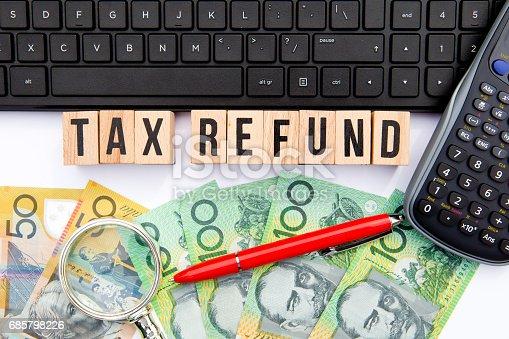 istock Tax Refund - Australia 685798226
