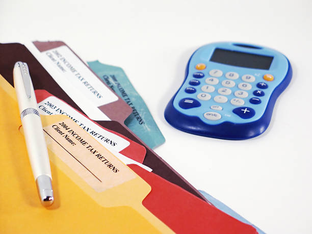 Tax Time - 03 stock photo