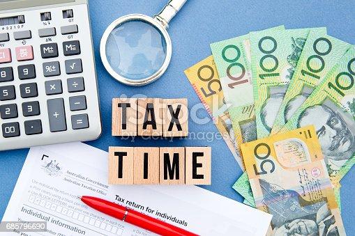 istock Tax Time - Australia 685796690