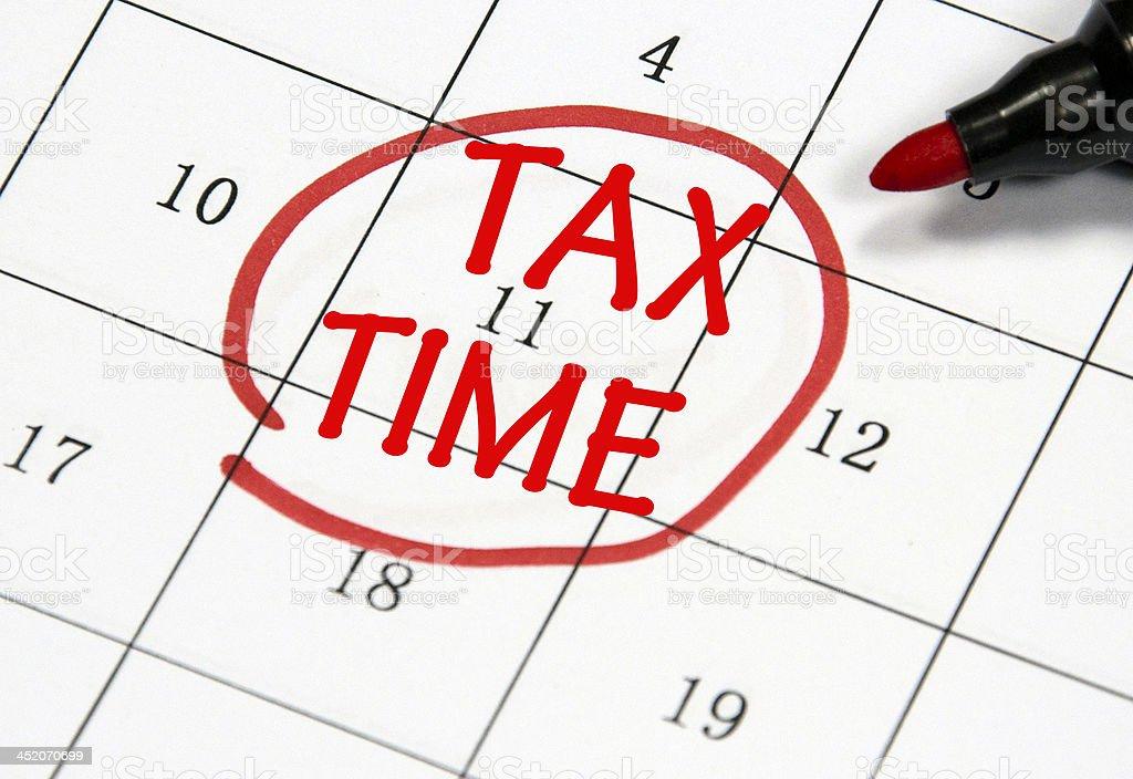 Steuer Zeit Datum – Foto