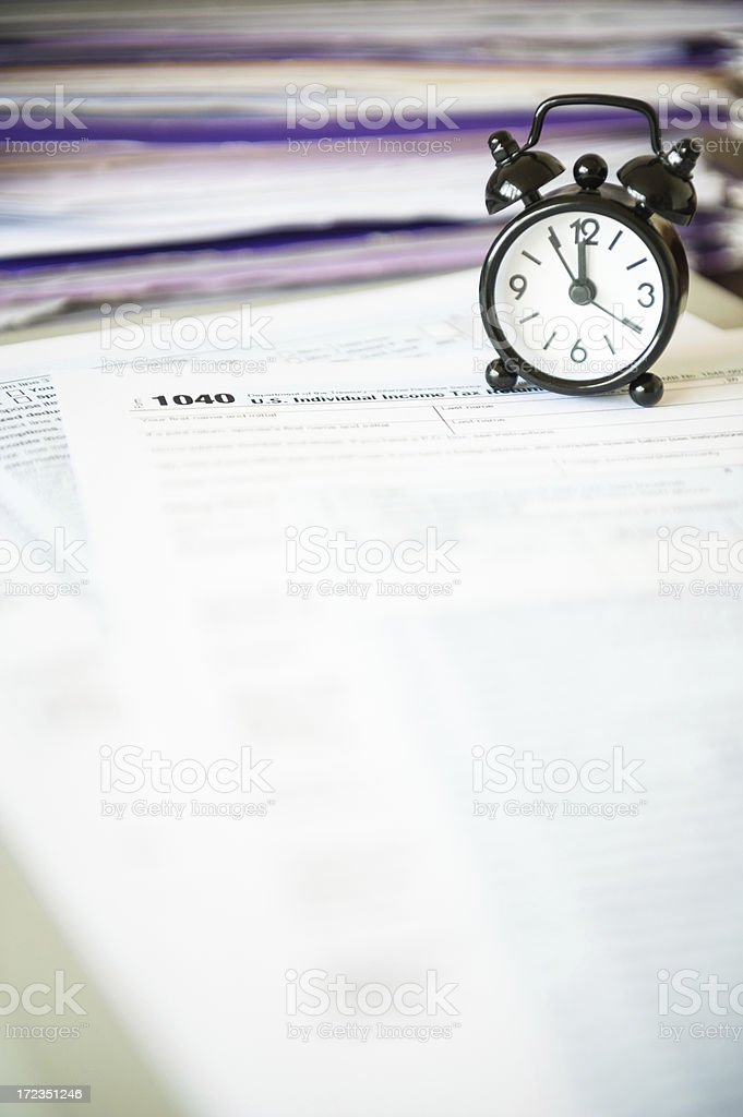 Tax time! royalty-free stock photo